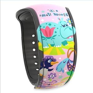 NEW Walt Disney World Magic Band2 Small World Pink
